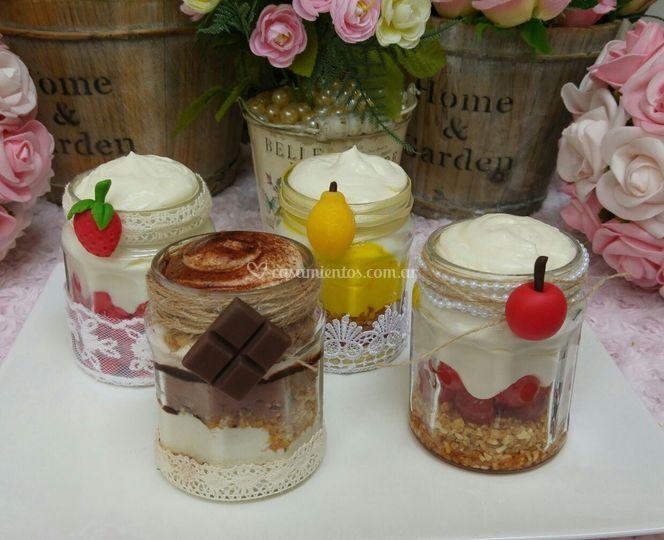 Desserts jars