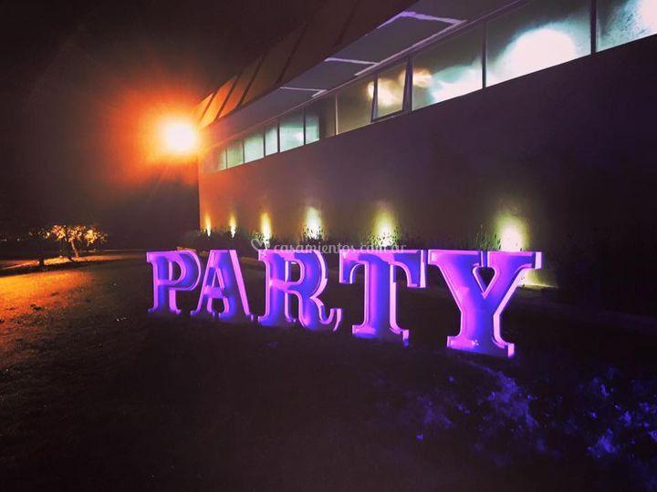 PARTY, tira led, un solo color