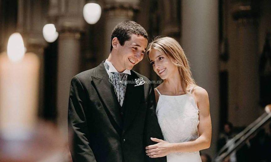 Jose en su casamiento