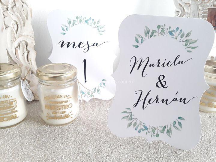 Souvenirs boda
