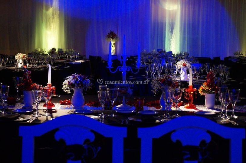Ambientación de casamiento