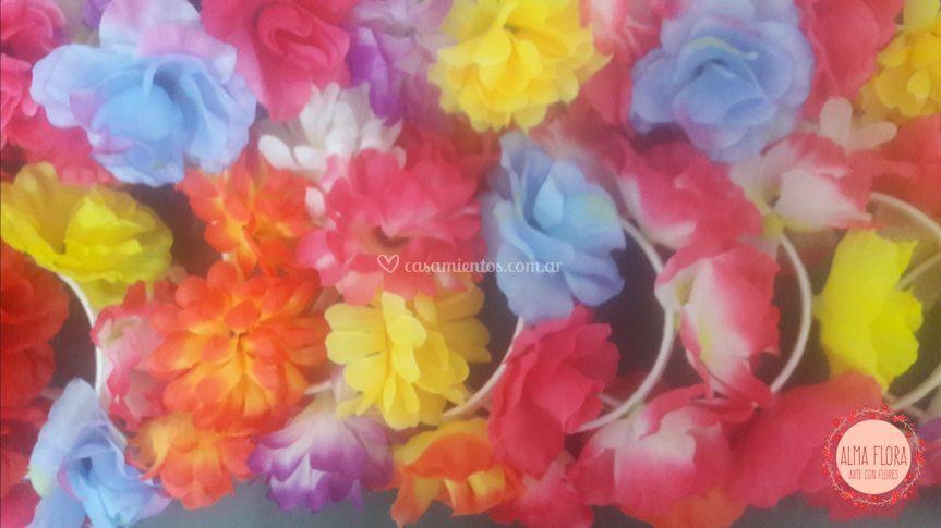 Combo Vinchas de flores