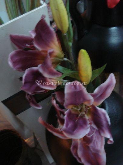 Flores simil naturales