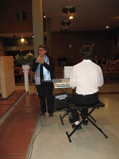 Amelia, nuestra solista