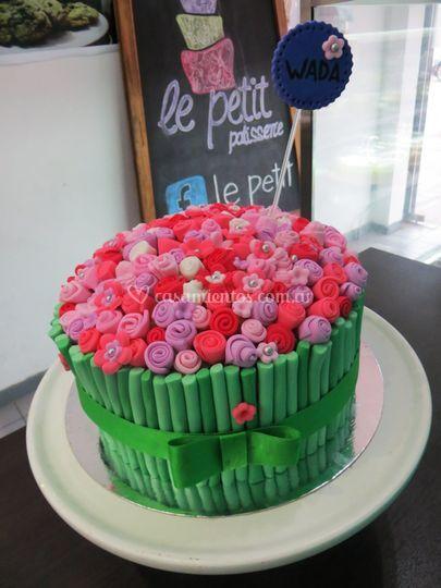 Torta ramo de flores