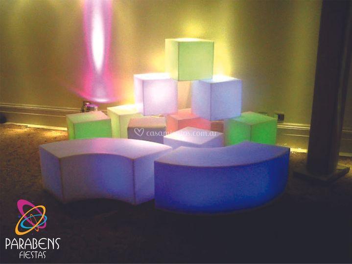 Mobiliarios Led RGB