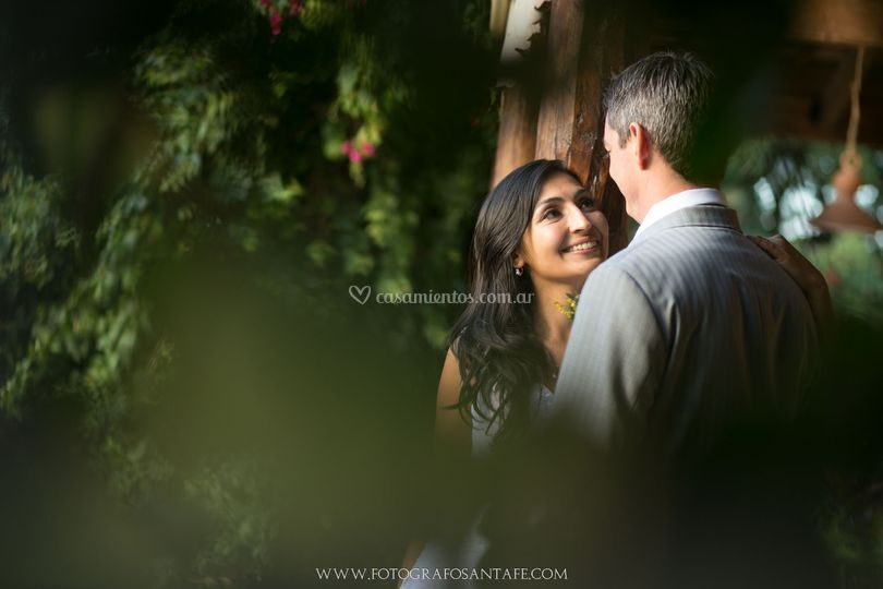 Mini sesión durante la boda