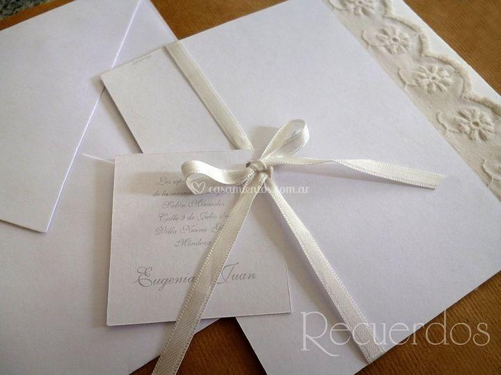 Tarjeta casamiento