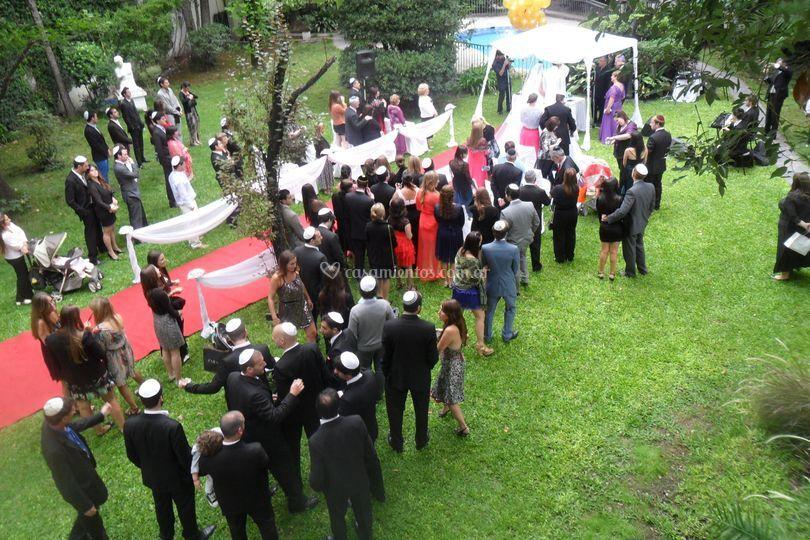 Ceremonia religiosa de La Fiesta Inolvidable