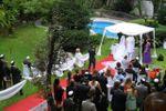 Ceremonia en el parque de La Fiesta Inolvidable