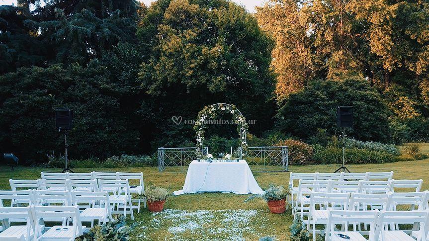 Lugar de ceremonia