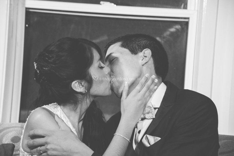 El beso de un nuevo comienzo