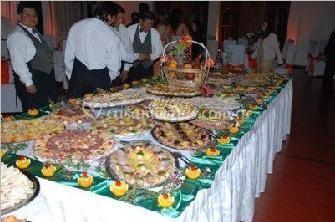 Banquetes para matrimonios de Crillon Confitería