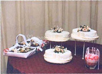 Torta y souvenirs