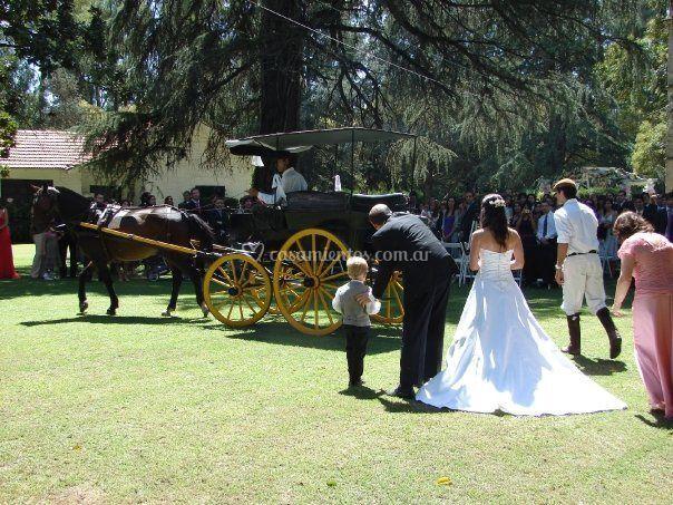 Llegada ceremonia