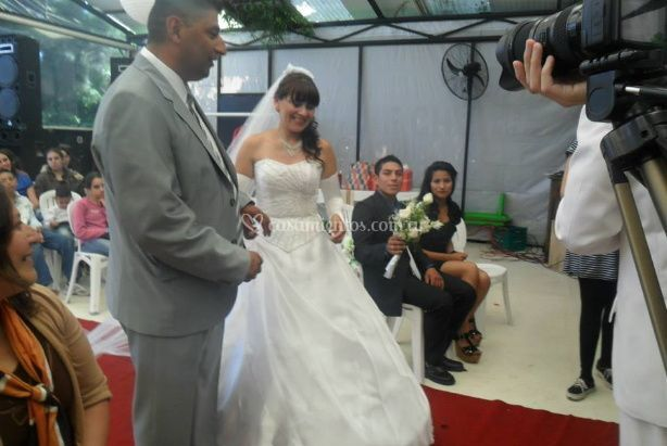 Ceremonia de novios