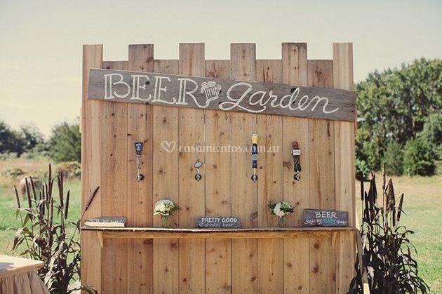 Beer Garden, bar autoservicio