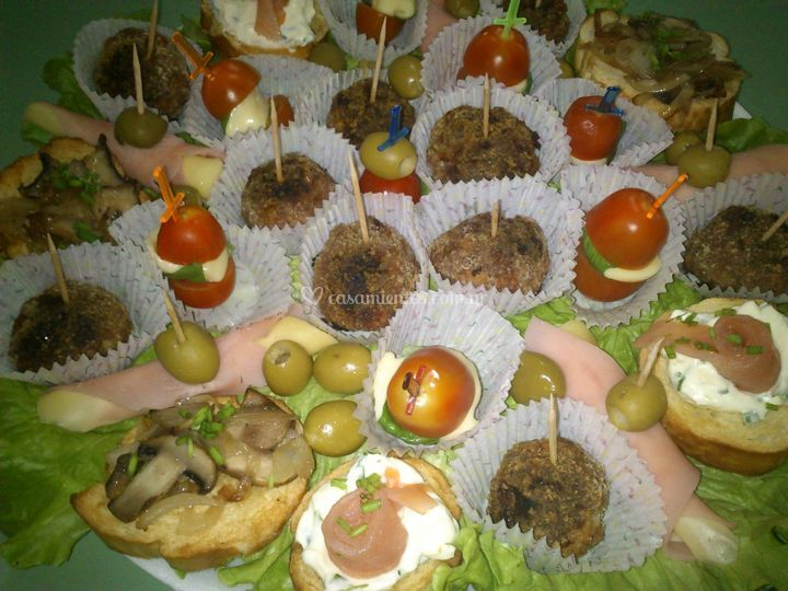 Brusquetas saladitos de cuisine gourmet fotos for Gourmet en cuisine