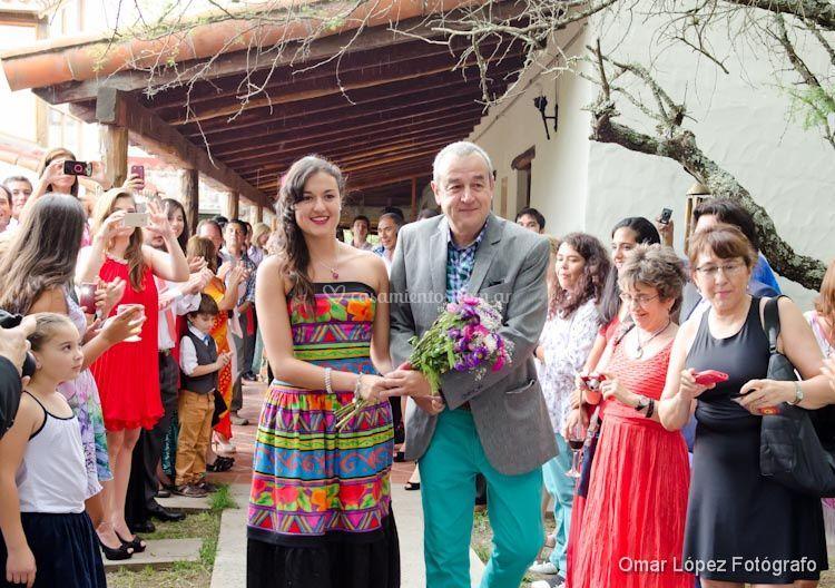 Llegada de la novia