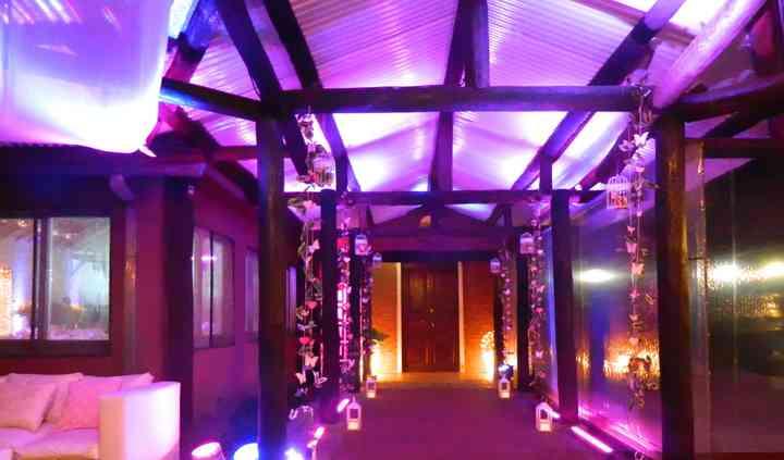Salón El Bamboo acceso
