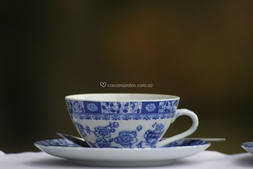Servicio de té old blue