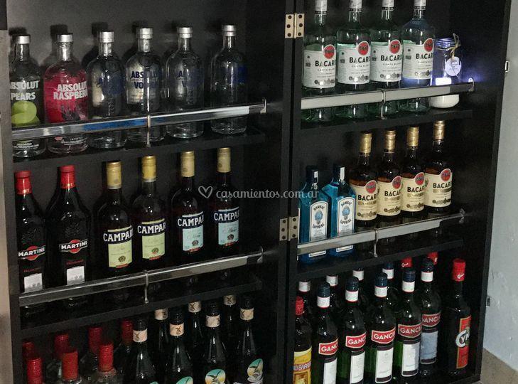 Exhibidor de bebidas