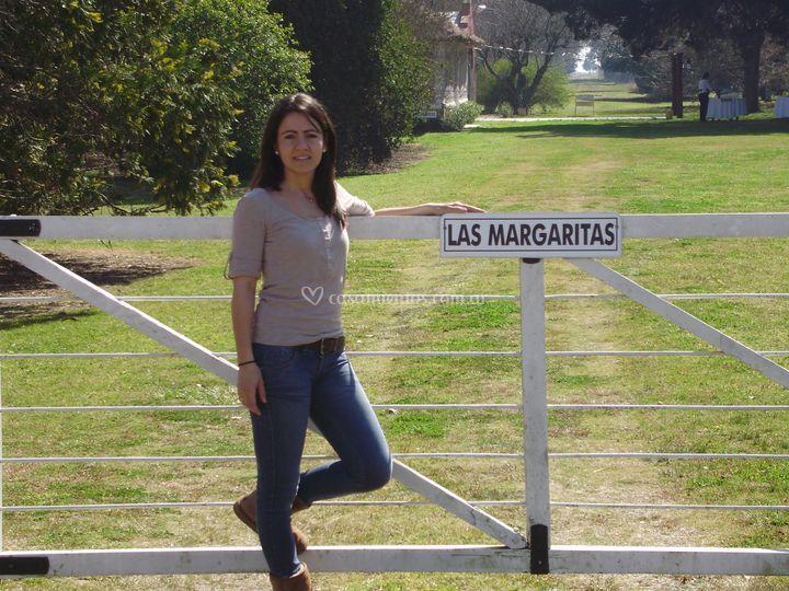 En la tranquera de Quinta Las Margaritas