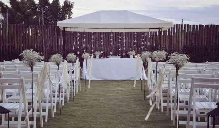 Jardin con ceremonia
