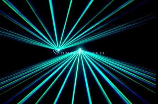 Iluminación laser