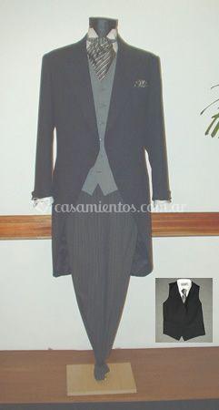 Jaquet clásica prenda nupcial
