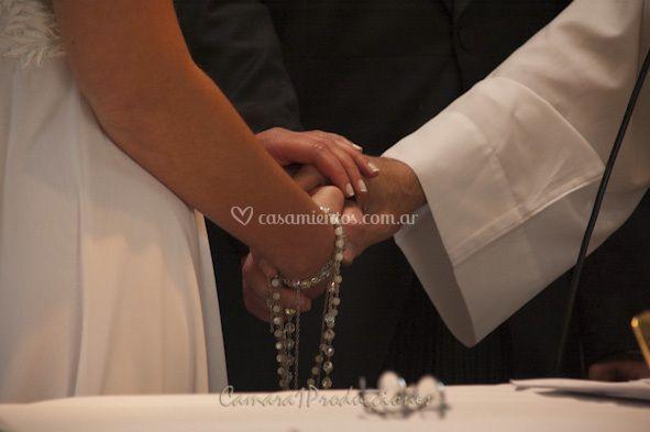 Detalle en ceremonia