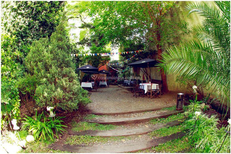 Parque exterior privado