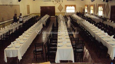 Presentación de banquete