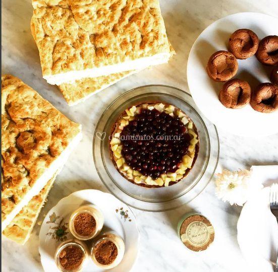 Focaccias y pastelería