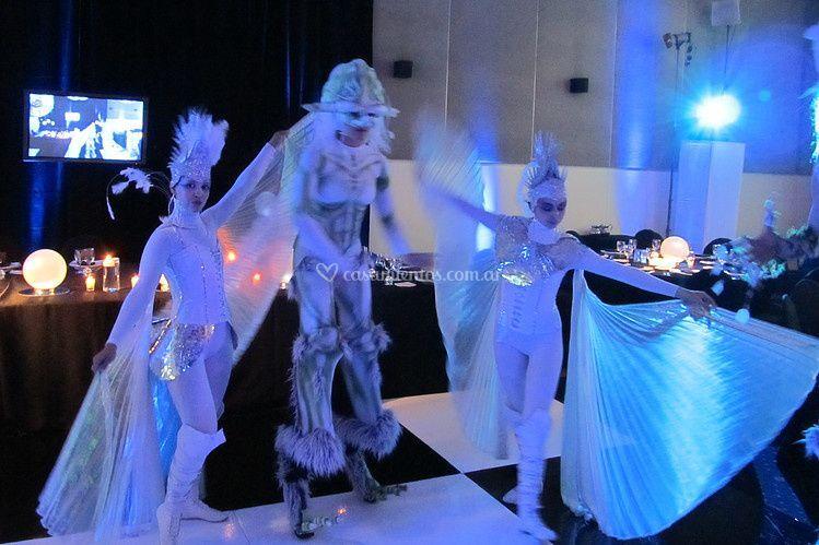 Partywhite: fiesta tematica