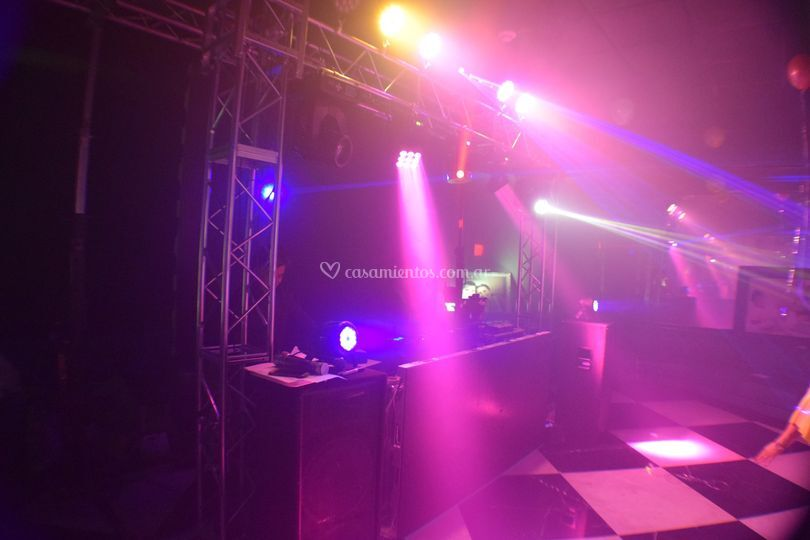 DJ, luces & sonido premium
