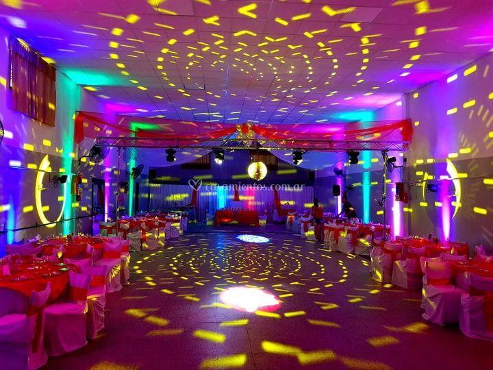 Iluminación básica boda