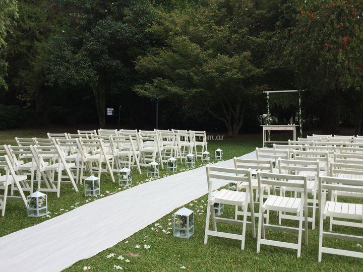Ceremonia: camino al altar
