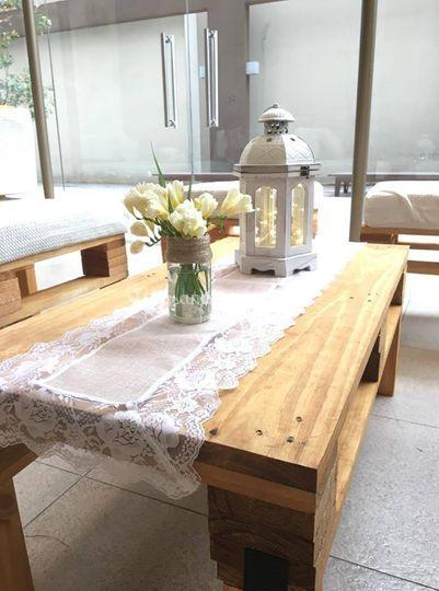 Mesa, caminitos, fanales