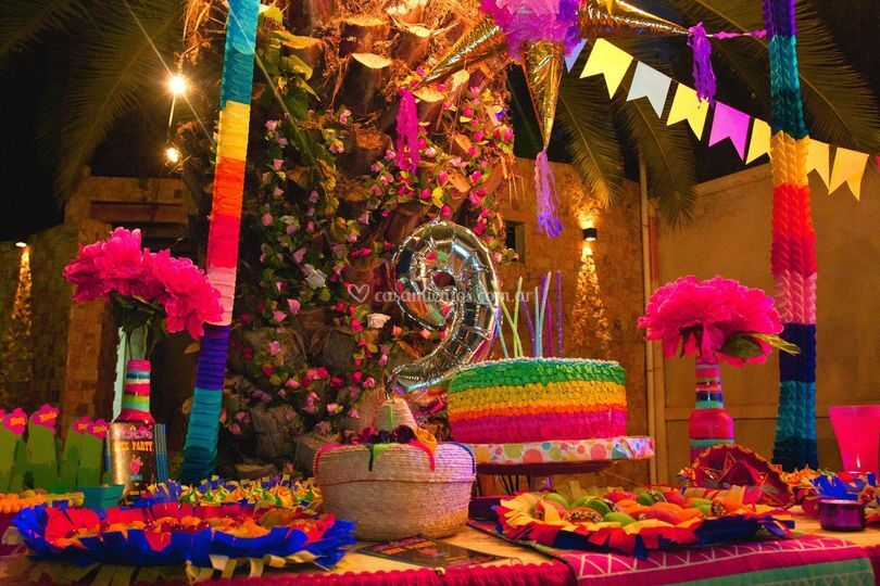 Candy Bar temático