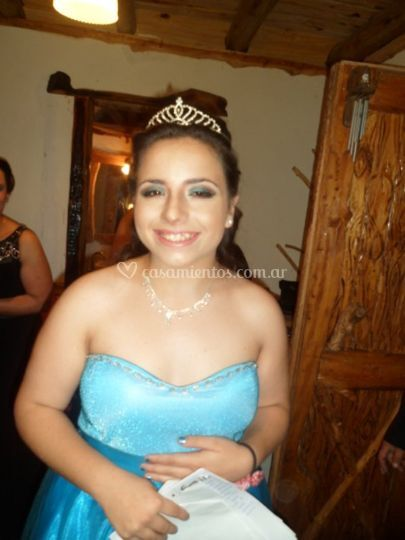 Make up para quinceañera