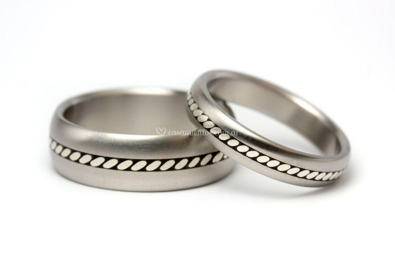 Alianzas de titanio y plata