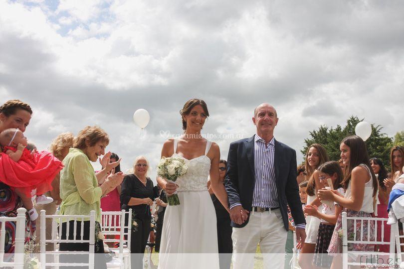 Alber y Marce - Ceremonia