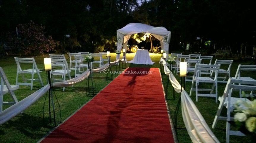 Ceremonia al Atardecer