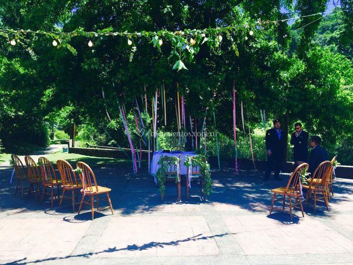 Exterior para ceremonias