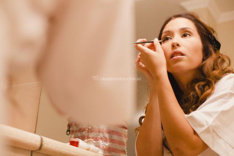 Auto makeup dia de mi Boda