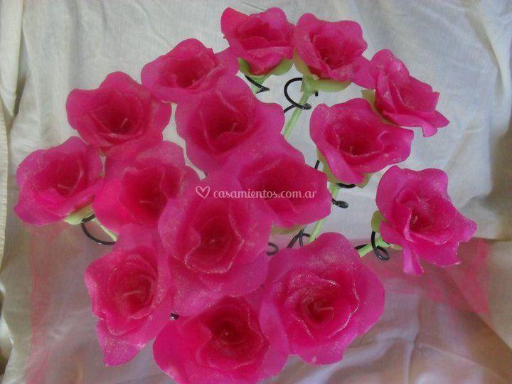 Rosas de Parafina