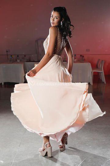 Body tul y falda plato