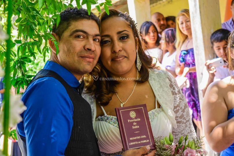 Noelia y Gustavo