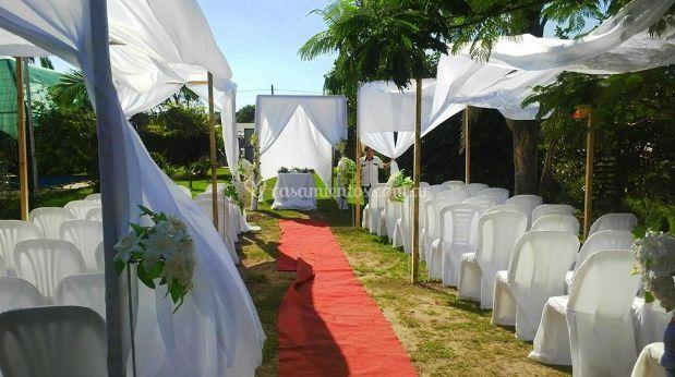Casamientos al aire libre